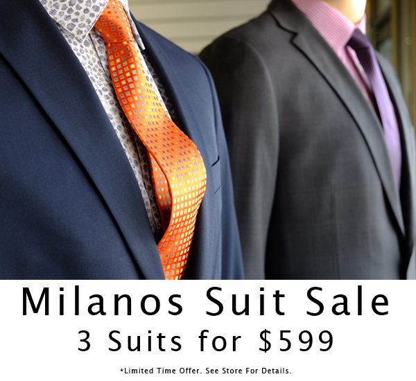 Milanos Suit Sale